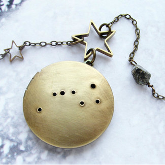 Constellation Locket Necklace