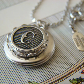 Personalized Bridesmaid Silver Locket