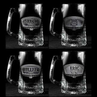 Best Man & Groomsmen Beer Mugs