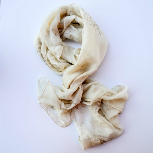 Lotus Silk Scarf