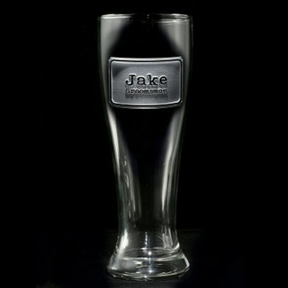Groomsmen Pilsner Glasses