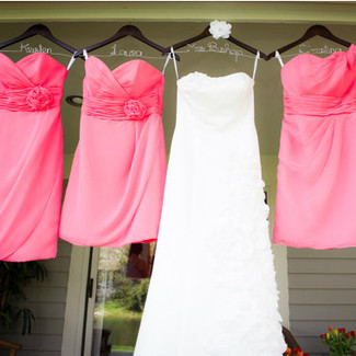 Wedding Dress Hangers for your Bridal Party