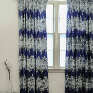 Killa Ikat Window Curtains