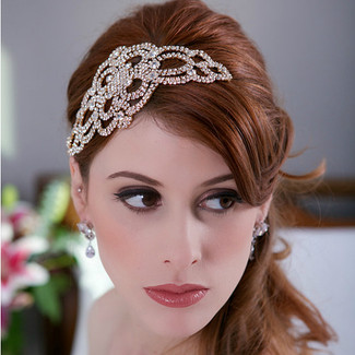 Gatsby Crystal Bridal Headpiece