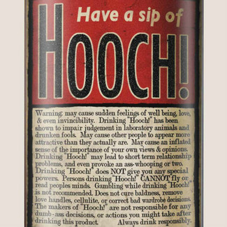 Hooch! Flask - 8 oz. stainless steel