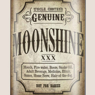 Moonshine Flask - 8 oz. stainless steel