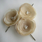 Nude Wedding Flower Hair Pins