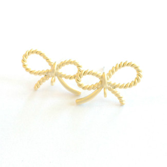 Petite Bow Post Earrings