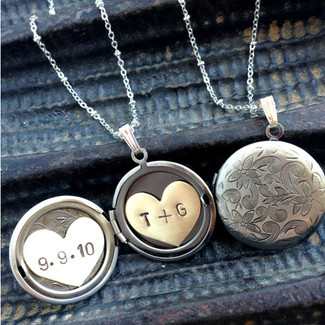 Infinite Love Locket Necklace