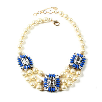 Blue Aristocratic Necklace