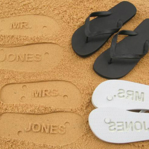 Personalized Wedding Sandals