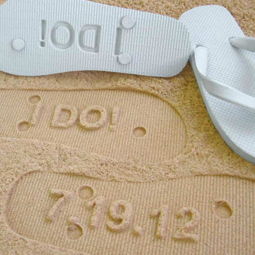 i Do Wedding Sandals