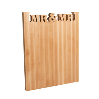 Mr & Mr Cutting Board