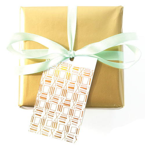 Wedding Gift Tag Lines : Squares & Lines Gift TagsSet of 15