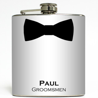 Black Tie Event Flask