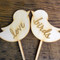 Love Birds Wedding Cake Topper