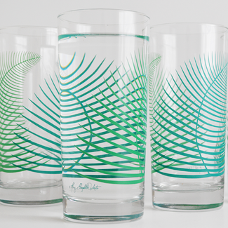 Summer Fern Glasses