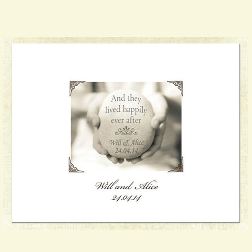 And They Lived Happily Ever After - Guestbook Alternative