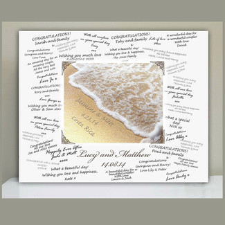 Names in the Sand - Guestbook Alternative
