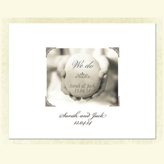 We Do Wedding Guestbook Alternative
