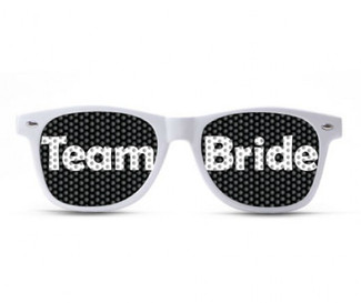 Team Bride Bold Sunglasses