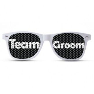 Team Groom Bold Sunglasses