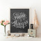 You Will Forever Be My Always - Chalkboard Print