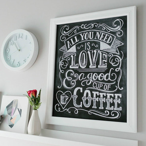 All You Need Is Love And Coffee - Kitchen Art