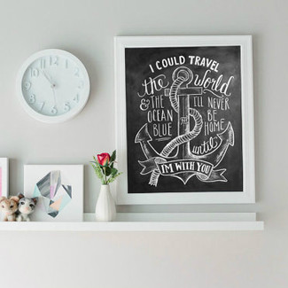 Nautical Print - Chalkboard Art