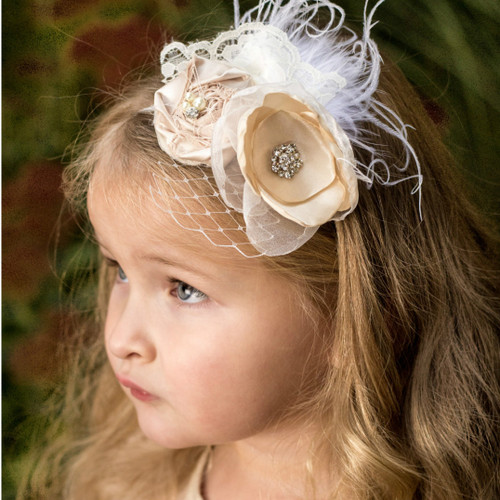 The Penelope Flower Girl Headband