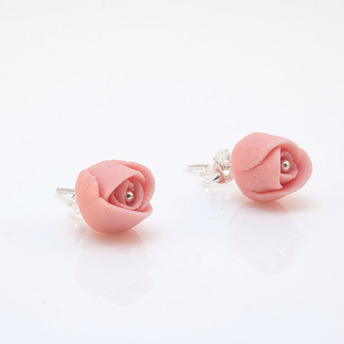 Porcelain Roses Earrings