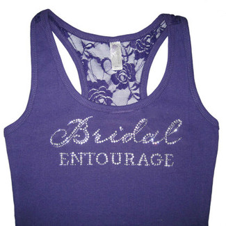 Bridal Entourage - Bridal Lace Tank Top