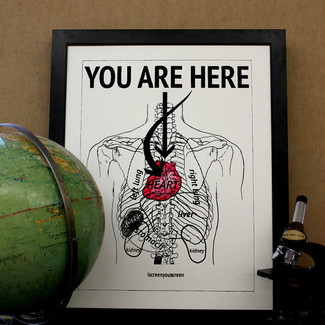 You Are Here, in my heart