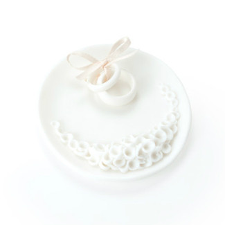 Ceramic Ring Bearer Wedding Dish