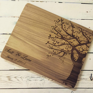 Rustic Tree Cutting Board