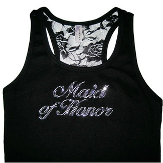 Maid of Honor / Matron of Honor - Wedding Party Lace Tank Tops