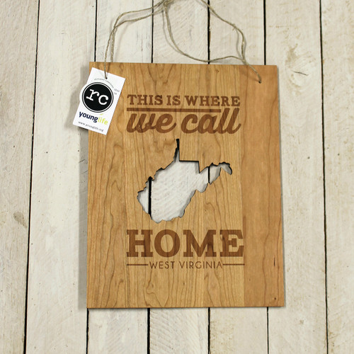 Where We Call Home Wall Hanging