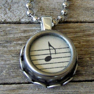 Music Pendant Necklace