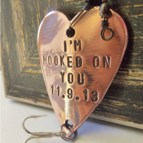 I'm Hooked On You Fishing Lure