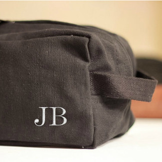 Groomsmen Personalized Shave Kit Bag