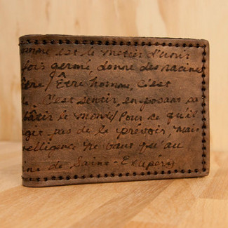 Personalized Smokey Bifold Wallet