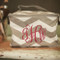Bridesmaid Personalized Chevron Makeup Bag