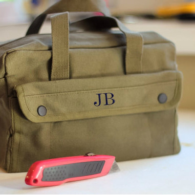 Groomsmen Canvas Tool Bag