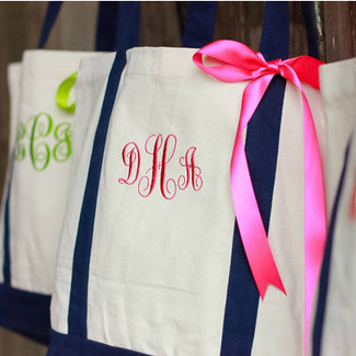 Bridal Party Gift Tote Bag