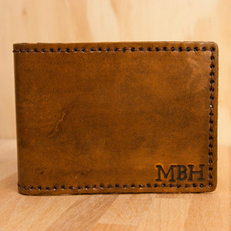 Monogram Bifold Wallet
