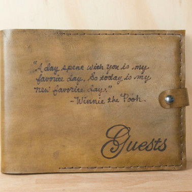 Personalized Smokey Guest Book