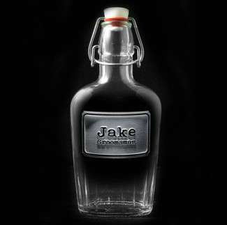 Groomsmen & Best Man Shield Flasks