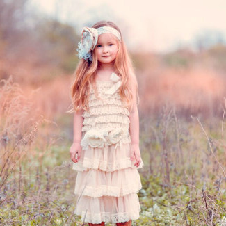 The Hannah Lace Flower Girl Dress