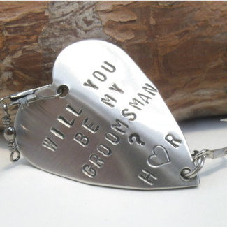 Will You Be My Groomsmen Fishing Lure