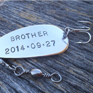 Brother of the Bride/Groom Fishing Lure